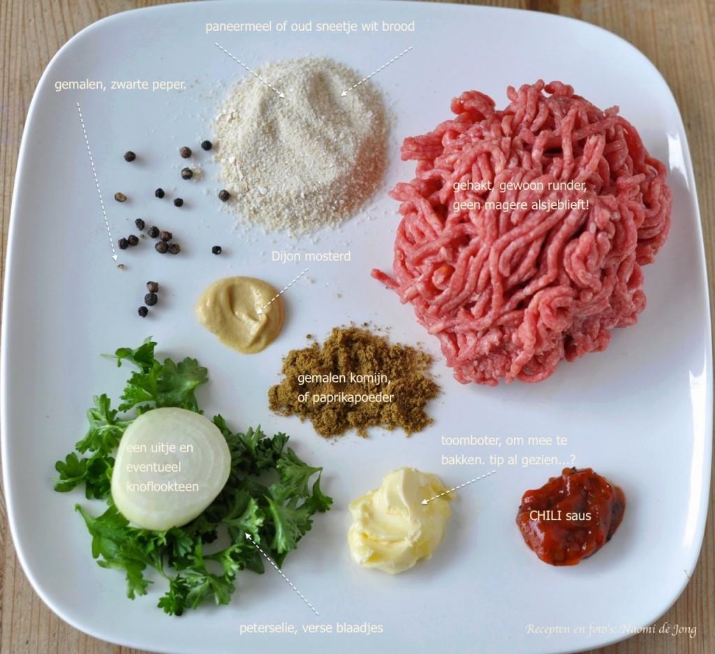 zelf mini hamburgers maken
