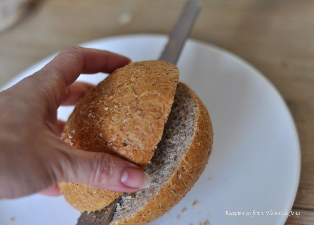 Brood het liefst nog 10 minuten in de oven opwarmen