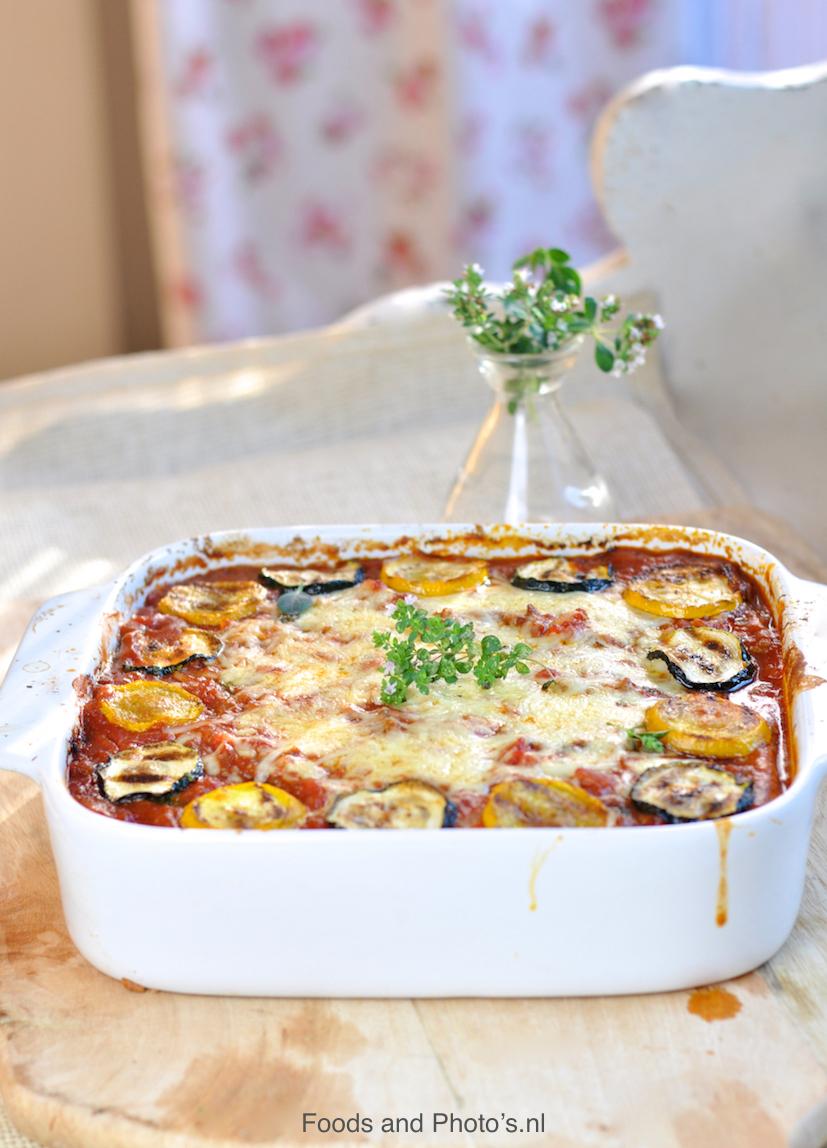 lasagne saus honing